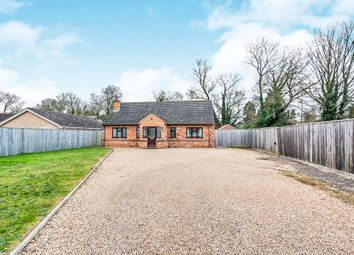 Thumbnail 3 bedroom detached bungalow for sale in New Bridge Road, Upwell, Wisbech