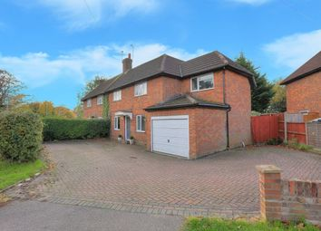 Thumbnail 4 bed semi-detached house for sale in Camp Road, St. Albans