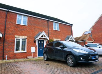 Thumbnail 2 bed terraced house for sale in Whitby Avenue, Peterborough