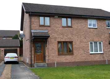 Thumbnail 3 bed semi-detached house for sale in Lyell Grove, Stewartfield, East Kilbride