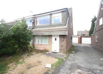 Thumbnail 3 bed semi-detached house for sale in Heversham Avenue, Fulwood, Preston