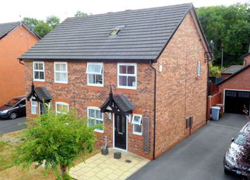 Thumbnail 4 bed semi-detached house for sale in Saltmeadows, Nantwich