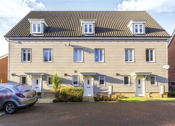 Thumbnail 3 bed terraced house for sale in Tulip Gardens, Cringleford, Norwich