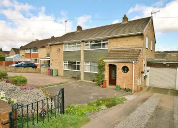 Thumbnail 3 bed semi-detached house for sale in Cemetery Road, Dronfield, Derbyshire