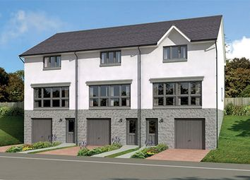 "Thumbnail 3 bed terraced house for sale in ""The Fairley End"" at Old Lang Stracht, Kingswells, Aberdeen"