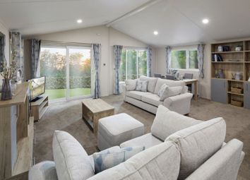 Thumbnail 3 bedroom lodge for sale in Arkholme, Carnforth