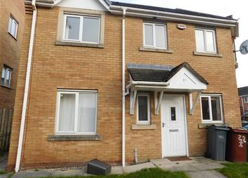 Thumbnail 3 bed end terrace house to rent in Ellis Street, Hulme, Manchester