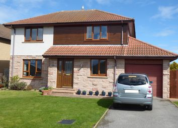 Thumbnail 4 bed detached house for sale in Headland Rise, Elgin