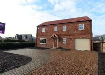 Thumbnail 5 bedroom detached house for sale in York Road, Barlby