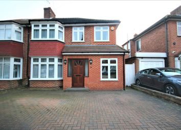 Thumbnail 4 bed semi-detached house for sale in Oakwood Park Road, London