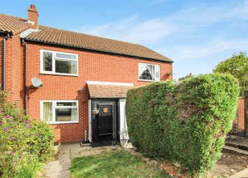 Thumbnail 2 bed terraced house for sale in Woolley Close, Brampton, Huntingdon