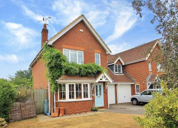 Thumbnail 3 bed detached house for sale in Danesfield, Ripley, Woking