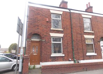 Thumbnail 3 bed end terrace house to rent in Stockport Road East, Bredbury, Stockport