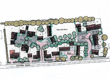 Thumbnail Land for sale in Station Road, Eccles Road, Norwich