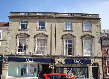 Thumbnail 2 bed flat to rent in Market Place, Warminster, Wiltshire
