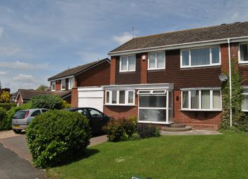 Thumbnail 4 bed semi-detached house to rent in Coppice Walk, Shirley, Solihull
