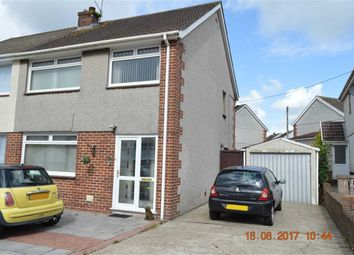 Thumbnail 3 bedroom semi-detached house for sale in Dyffryn Road, Swansea