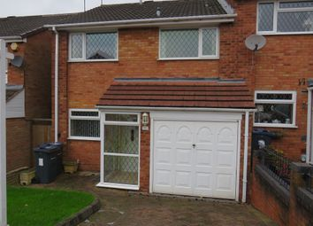 Thumbnail 3 bed end terrace house for sale in Croyde Avenue, Great Barr, Birmingham