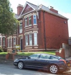 Thumbnail 1 bed flat to rent in The Crescent, Pontypridd Road, Barry