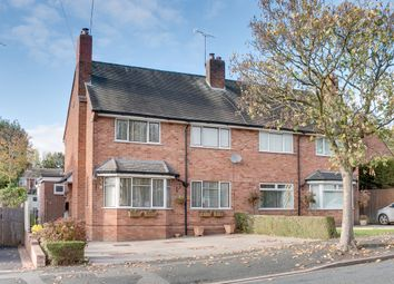 Thumbnail 3 bed semi-detached house for sale in Tynsall Avenue, Webheath, Redditch