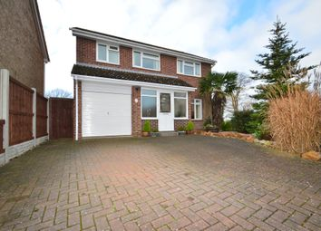 Thumbnail 4 bed detached house for sale in Netley Close, Ipswich