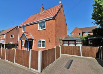 Thumbnail 3 bed detached house for sale in Elvin Road, Dereham