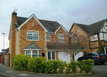 Thumbnail 5 bedroom detached house for sale in Avington Close, Leicester