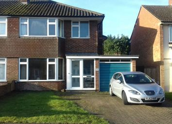Thumbnail 3 bed semi-detached house to rent in Keswick Close, Dunstable