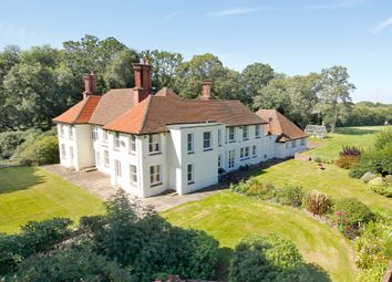 Thumbnail 6 bed equestrian property for sale in Nr. Shirley Holms, Lymington, Hampshire