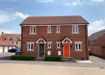 Thumbnail 2 bed semi-detached house for sale in Roger Way, Old Sarum, Salisbury