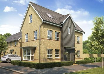 "Thumbnail 4 bedroom detached house for sale in ""Hesketh"" at Forder Way, Hampton, Peterborough"
