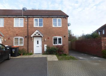Thumbnail 3 bedroom end terrace house for sale in Travertine Close, Houghton Regis, Dunstable