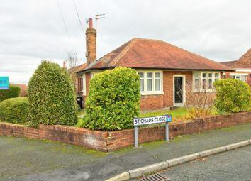 Thumbnail 2 bed detached bungalow for sale in Hodder Way, Poulton-Le-Fylde