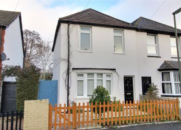 Thumbnail 3 bed semi-detached house for sale in Station Road, Frimley, Surrey