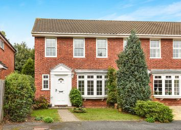 Thumbnail 3 bed semi-detached house to rent in Blenheim Close, West Byfleet