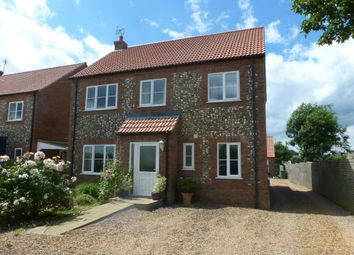 Thumbnail 4 bed detached house to rent in Barretts Lane, Feltwell, Thetford