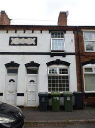 Thumbnail 3 bedroom terraced house for sale in Cobden Street, Darlaston, Wednesbury