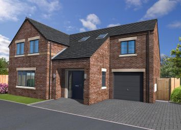 Thumbnail 4 bed detached house for sale in Kilnview Croft, Bridlington Road, Driffield
