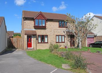 Thumbnail 2 bed semi-detached house for sale in Lime Crescent, Willand