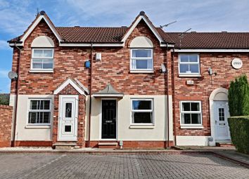Thumbnail 2 bed terraced house for sale in Darnholm Court, Howdale Road, Sutton-On-Hull, Hull