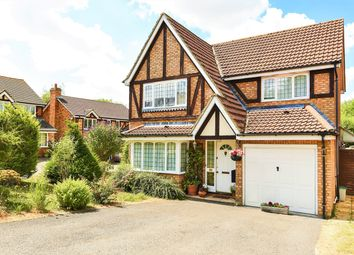 Thumbnail 4 bed detached house for sale in The Crofts, Hatch Warren, Basingstoke