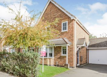 Thumbnail 3 bed semi-detached house for sale in Cherry Hills Road, Leicester