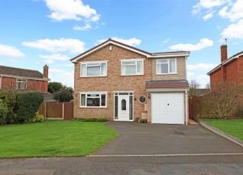 Thumbnail 4 bed detached house for sale in Wesley Crescent, Shifnal