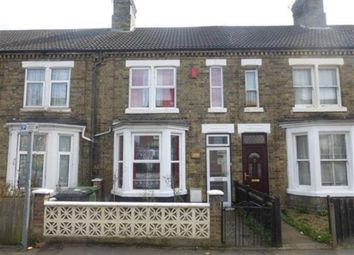 Thumbnail 3 bedroom terraced house to rent in St Pauls Road, Peterborough