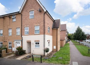 Thumbnail 4 bed end terrace house for sale in The Meadows, Watford