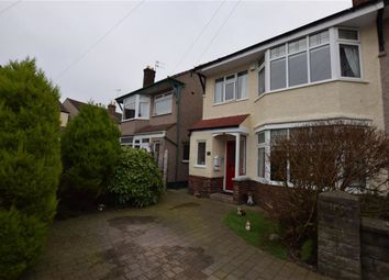 Thumbnail 3 bed semi-detached house for sale in Aberford Avenue, Wallasey, Merseyside