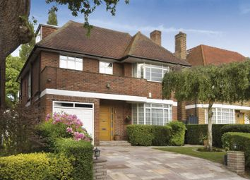 Thumbnail 6 bed detached house to rent in Spencer Drive, Hampstead Garden Suburb