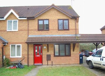 Thumbnail 3 bed end terrace house for sale in Cedar Close, Daventry, Northampton