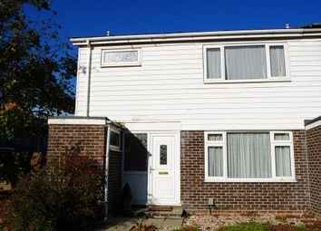 Thumbnail 3 bed end terrace house to rent in Moorland Road, Witney, Oxon