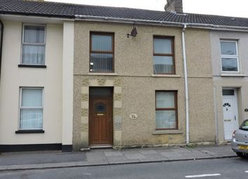 Thumbnail 3 bed property to rent in Ropewalk Road, Llanelli